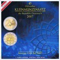 Austria Euro Coins Set 2007 BU - Autriche