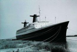 Paquebot - Le FRANCE - Photographie Fujifilm Originale (Non Localisé Et Daté) - Barche