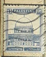 PALESTINE,OMAR MOSQUE-USED STAMP - Palestina