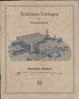 Catalogue MÄRKLIN 1920s Schienen-Vorlagen Für Eisenbahnen Spur O Spur 1 - Libros Y Revistas