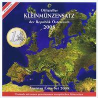 Austria Euro Coins Set 2008 BU - Autriche