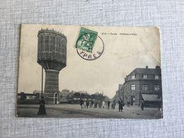 IEPER 1914  YPRES  CHATEAU D 'EAU     GEANIMEERDE KAART !! - Ieper