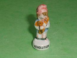 A / Fèves / Personnages / Métiers : Revolution , Boulanger   TB114P - Personen