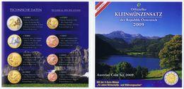 Austria Euro Coins Set 2009 BU - Autriche