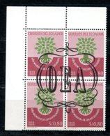 Ecuador, 1964, World Refugee Year, WRY, United Nations, Overprinted OEA, MNH, Michel 1143 I-IV - Ecuador