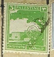 PALESTINE,MOSQUE-USED STAMP - Palestina