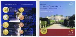 Austria Euro Coins Set 2010 BU - Autriche