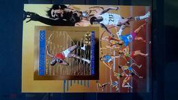 CENTRAL AFRICA 1983, Mi Bl 254В, Imperf, Golden Foil, Olympics, MNH** - Zomer 1984: Los Angeles