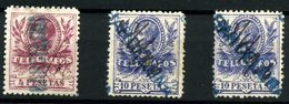 España-Telégrafos Nº 45/6. Año 1905 - Beneficiencia (Sellos De)