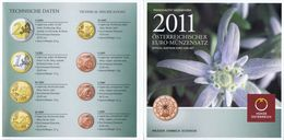 Austria Euro Coins Set 2011 BU - Autriche