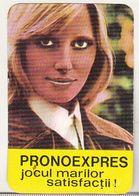 Romanian Small Calendar - 1986 Loto-Pronosport  - Lottery Calendar - Petit Format : 1981-90