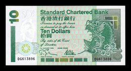 Hong Kong 10 Dollars Standar Chartered Bank 01.01.1995 Pick 284b SC UNC - Hongkong