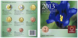 Austria Euro Coins Set 2013 BU - Autriche