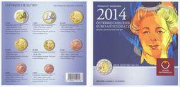 Austria Euro Coins Set 2014 BU - Autriche