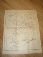 Ukraine. Russia. Pre 1917. Scheme Of Railway Roads Of Donetsk Region. - Topographical Maps