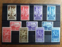 REGNO - 3 Serie Anni '30/'40 Nuovi ** (1 Valore Ferrovia Piccolissima Imperfezione) + Spese Postali - Mint/hinged