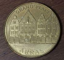 62 ARRAS GRAND'PLACE MÉDAILLE TOURISTIQUE MONNAIE DE PARIS 2014 JETON MEDALS COINS TOKENS - 2014
