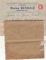 Tarn, (2 Scans) ESC 1F50 Rabastens  -> Albi -> Réexpédiée Recommandé 4F50 à Valence 1942 - 1921-1960: Modern Tijdperk
