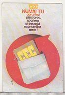 Romanian Small Calendar - 1990 - CEC - Calendrier , Roumanie - Petit Format : 1981-90
