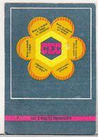 Romanian Small Calendar - 1986 - CEC - Calendrier , Roumanie - Petit Format : 1981-90
