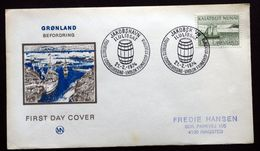 Greenland 1974 Transportation. Long Boat  MiNr.87  FDC ( Lot Ks) - FDC
