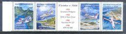 A248- French Polynesia 1998 Aviation. Aircraft. Flight. - Aerei