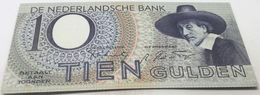 RÉPLICA Billete Holanda. 10 Gulden. 1943. Amsterdam. II Guerra Mundial. SC. Sin Circular - [2] 1815-… : Kingdom Of The Netherlands