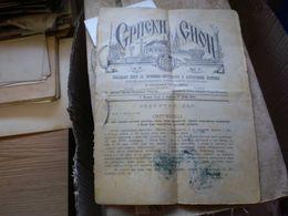Srpski Sion Novi Sad 1894 - Libri, Riviste, Fumetti