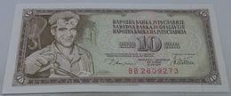 Billete Yugoslavia. 1978. 10 Dinares. SC. Sin Circular - Yugoslavia