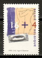 Belgium 1995 Bélgica / Medicine AIDS MNH Sida Medicina / Kz07  37-25 - Ziekte
