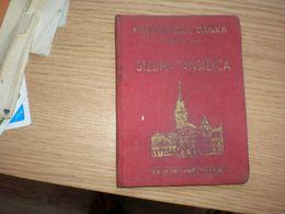 Szabadka Subotica Stedna Kinjizica Komunalna Banka - Documents Historiques