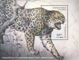 Uzbekistan  1997. The Leopard. Fauna. Animals.  MNH** - Ouzbékistan