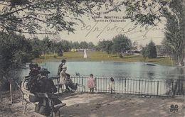 34 - Montpellier - Jardin De L'Esplanade Magnifiquement Animé - Carte Colorisée - Montpellier