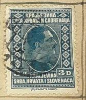 SERBIA,HRVATA I SLOVENACA,KING ALEXANDER,3D-USED STAMP - Serbien