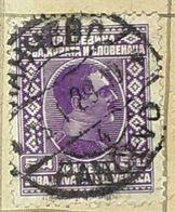 PANCEVO STAMP,SERBIA,HRVATA I SLOVENACA,KING ALEXANDER,5D-USED STAMP - Serbien