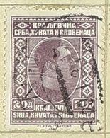 SERBIA,HRVATA I SLOVENACA,KING ALEXANDER,20 D-USED STAMP - Serbien
