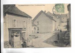 70 - CALMOUTIERS ( Hte-Saône ) - La Grande-Rue - Carte Animée - Francia