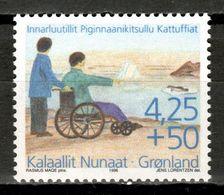Greenland 1996 Groenlandia / Handicap Association MNH Asociación De Minusválidos / Kq01  31-17 - Handicaps