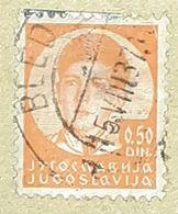 SERBIA,HRVATA I SLOVENACA,KING ALEXANDER,0.50-USED STAMP - Serbien