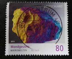 ALLEMAGNE ALEMANIA GERMANY DEUTSCHLAND BUND 2019 MOON ROCK 80C USED MI 3478 YT 3262 - [7] République Fédérale