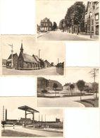 Beerse : 4 Postkaarten --- Lindenlaan / Brug 4 / Kapel / Kerkplaats - Beerse