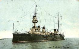 029 493 - CPA - Bateaux - Guerre - L'Amiral-Aube - Guerre