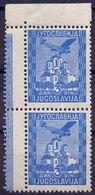 "KINGDOM JUGOSLAVIA - ERROR  ""BRIDGE"" AIRMAIL  OPLENAC - **MNH - 1934 - RARE - 1931-1941 Kingdom Of Yugoslavia"