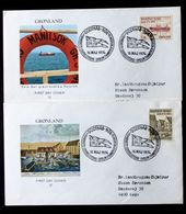 Greenland 1974  Postal Service Through The Ages Cz.Slania  MiNr.88-89  FDC ( Lot Ks) - FDC