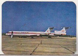 Romanian Small Calendar - 1983 Tarom Airlines - Petit Format : 1981-90