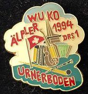 ACCORDEON - AKKORDEON - COR DES ALPES - CLARINETTE - ÄLPLER WUKU 1994 - RADIO DRS 1 - URNERBODEN - (JAUNE) - Música