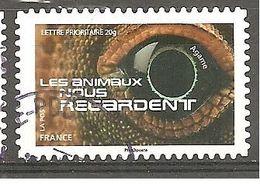 FRANCE 2015  Adhésif Y T N ° 1157 Oblitéré Cachet Rond - Francia