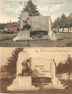 Berlaer / Berlaar : Beeld Der Gesneuvelden 1914-18 ---- 2 Kaarten - Berlaar