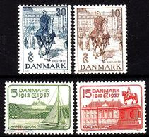 Denmark 1937. Silver Jubilee King.  MNH** - 1913-47 (Christian X)