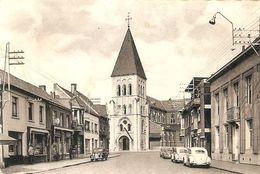Berlaar : Dorp En Kerk ( Met 4 Volkswagens - Kever ) - Berlaar